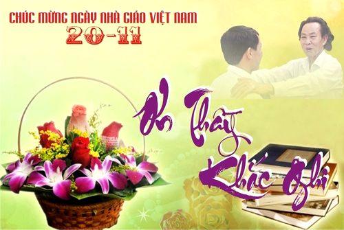 The songs hay teacher Vietnam November 20